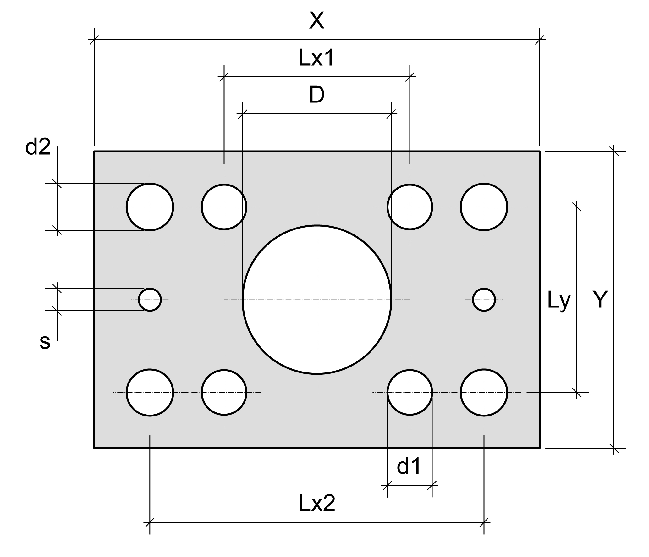 Mounting plates for combi bearings