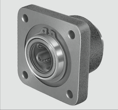 flanged cast iron linear housing