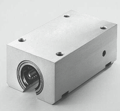 aluminium tandem linear bearing housing open TE33
