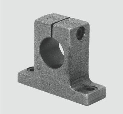 flanged linear bearing shaft end supports WB59 FB59