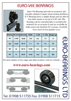 vee bearings catalogue