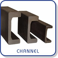 Standard channels (rails / steel profiles) for standard, eccentric and shim adjustable bearings