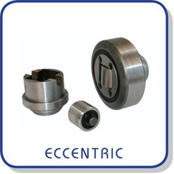 Eccentric adjustable combined roller bearings