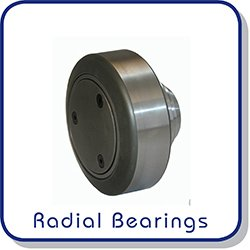 Radial combined bearings