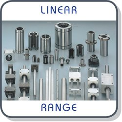 Linear bearings, housings and shafts